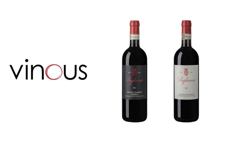 Nuovi punteggi di Vinous per Chianti Classico e Chianti Classico Riserva di Pagliarese